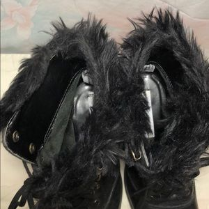 Nine West Shoes - NINE WEST Vintage Lace up Boots 6